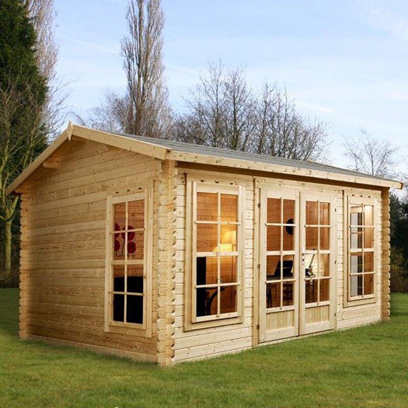 Mercia Garden Products Home Office Director X Summerhouse - Summer house