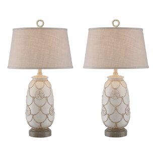 Virgil Sand Dollar 31 Table Lamp (Set of 2)