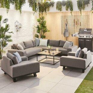 Retherford 8 Seater Corner Sofa Set Image