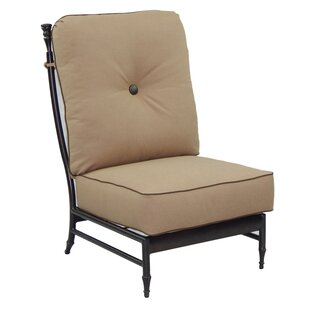 Leona Provence Center Patio Chair with Cu..