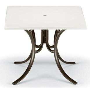 Werzalit Square Dining Table by Telescope..