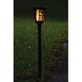 LED Solar Outdoor Wall Lantern	With Motion Sensor By Symple Stuff