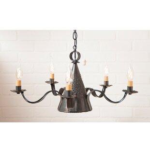 Gracie Oaks Wellbrock 5-Light Chandelier