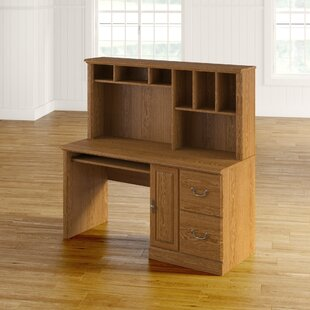 Best Reviews Oxford Computer Desk with Hutch ByCharlton Home