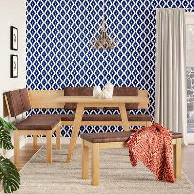 Desouza 3 Piece Breakfast Nook Dining Set Brayden Studio