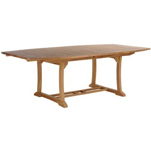 Layne Extendable Solid Wood Dining Table by Darby Home Co
