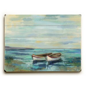 Boats on the Beach Wall Decor
