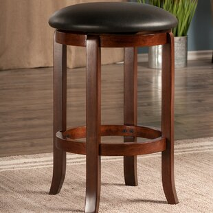 Adcox 24.21 Swivel Bar Stool Alcott Hill