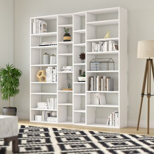Napolitano Composition 2012-003 Geometric Bookcase