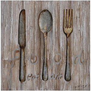 Spoon Knife Fork Metal Wall Décor Part 55