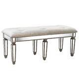 Shirley Upholstered Bench by House of Hampton