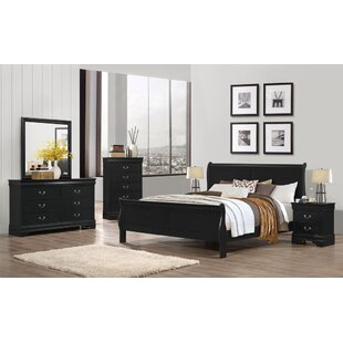 Best Choices Cali 6 Drawer Double Dresser with Mirror by Charlton Home