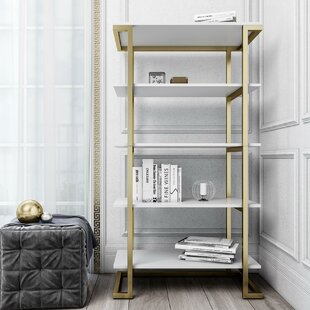 Camila Etagere Bookcase by CosmoLiving Cosmopolitan New