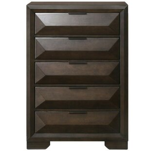 Kaylani Wooden 5 Drawer Chest