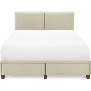 Berendien Upholstered Low Profile Storage Platform Bed