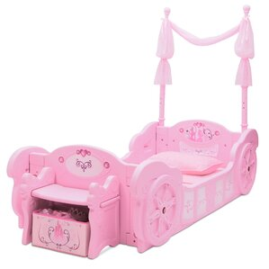Disney Princess Carriage Twin Convertible Toddler Bed by Delta Children