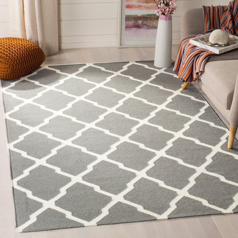 Ebern Designs Rodgers Wool Area Rug Reviews Wayfair Ca