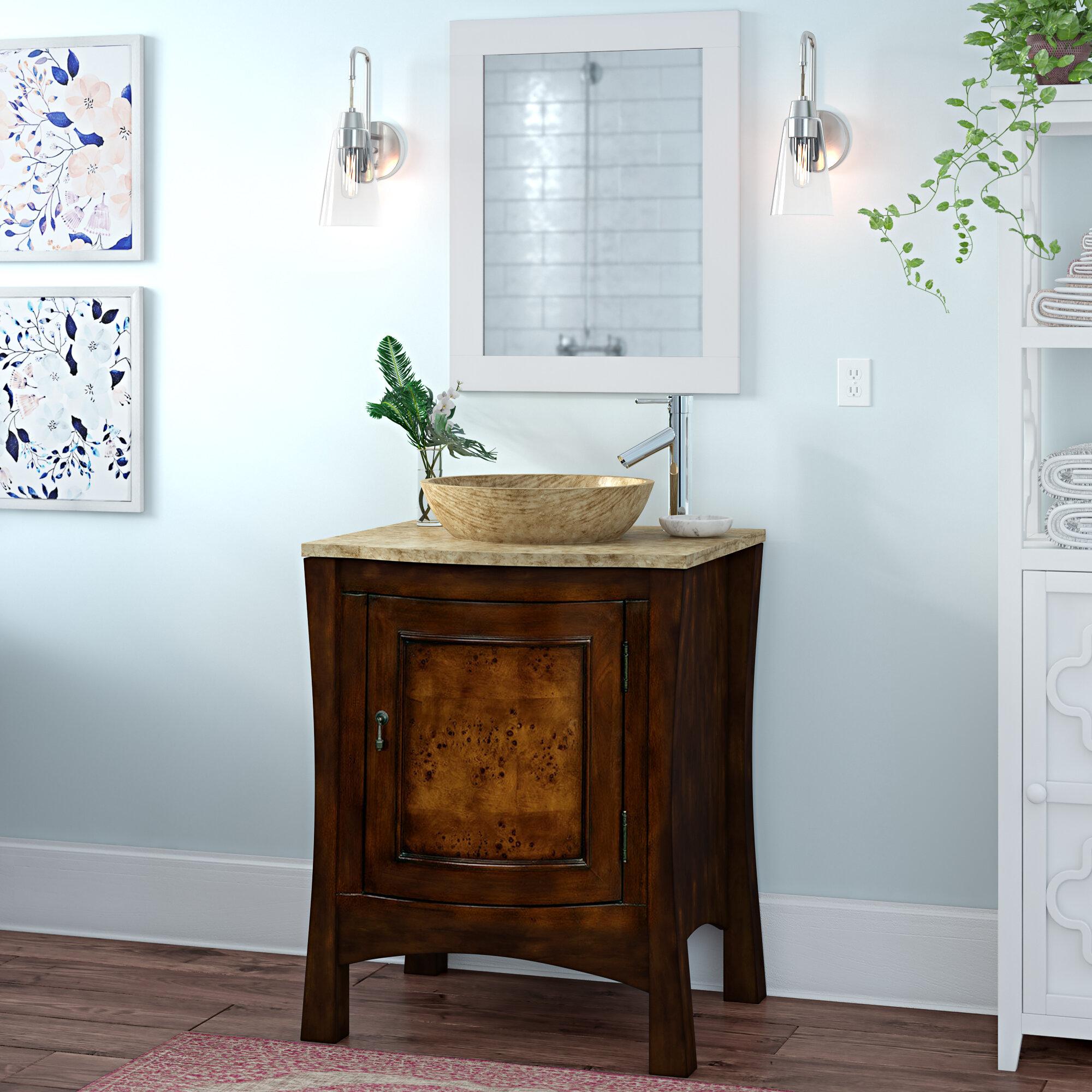 Bloomsbury Market Crisler 26 Single Bathroom Vanity Set Reviews Wayfair