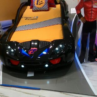 Best Reviews Honey Nitro Turbo Gt Twin Car Bed by Zoomie Kids