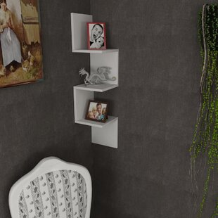 Latitude Run Hudak Modern Wall Shelf