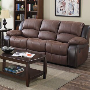 Compare prices Ballyrashane Reclining Sofa by Winston Porter Reviews (2019) & Buyer's Guide
