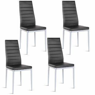 Giblin Elegant Upholstered Dining Chair (Set of 4)