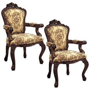 Carved Armchair (Set of 2)
