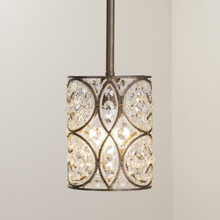 Manigault 1-Light Crystal Pendant