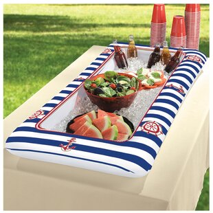 50 Can Summer Nautical Inflatable Cooler