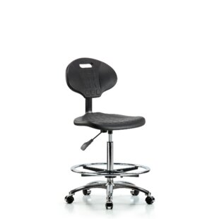 Pearl Drafting Chair by Symple Stuff
