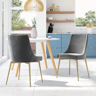 Best Reviews Paluch Upholstered Dining Chair (Set of 2) by Orren Ellis Reviews (2019) & Buyer's Guide
