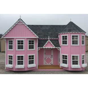 Sara's Victorian Mansion DIY Kit Playhouse By Little Cottage Company