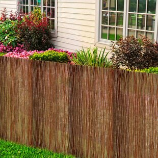 Benbow Garden Willow Fence (4m X 2m) By Sol 72 Outdoor