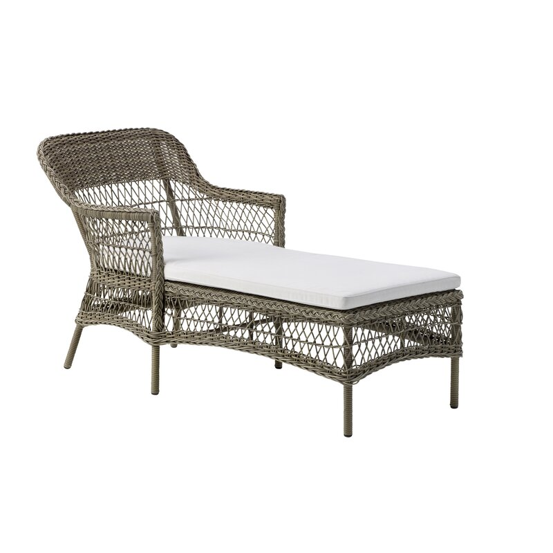 Sika Design Olivia Chaise Lounge With Cushion Wayfair