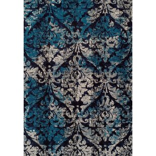 Bethzy Blue Indoor/Outdoor Area Rug