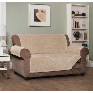 Box Cushion Sofa Slipcover by Loon Peak