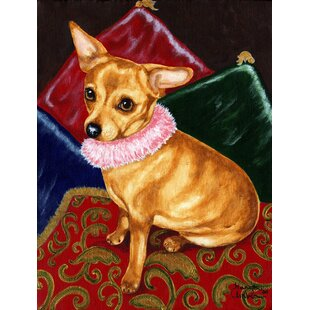 Pillow Princess Chihuahua 2-Sided Garden Flag By Caroline's Treasures