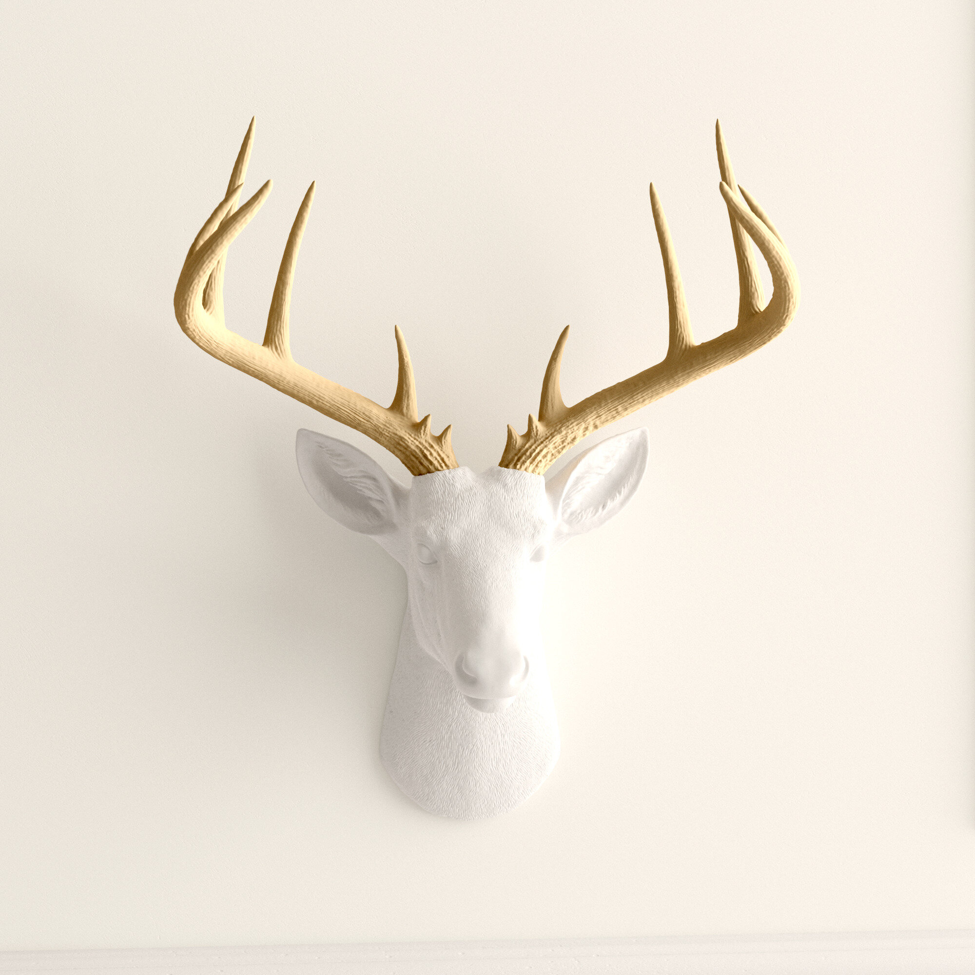 Walplus Contemporary Taxidermy Deer Head Wall Art Decorations Home or gifts idea