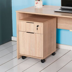 Cabezas 1 Drawer Filing Cabinet By 17 Stories