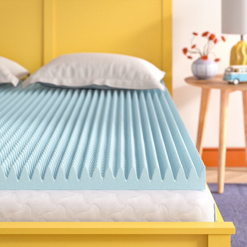 Wayfair Sleep 3 Gel Memory Foam Mattress Topper Reviews Wayfair
