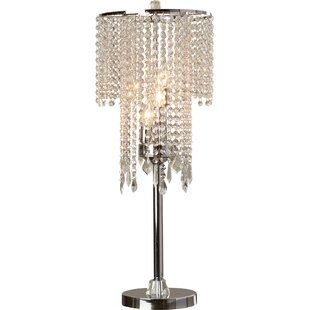 Crystal table lamps joss main jayne 315 table lamp aloadofball Image collections