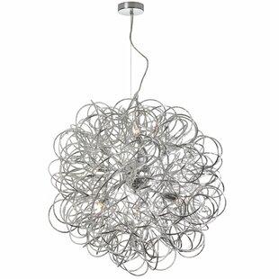 Willa Arlo Interiors Jennings 8-Light Globe Chandelier