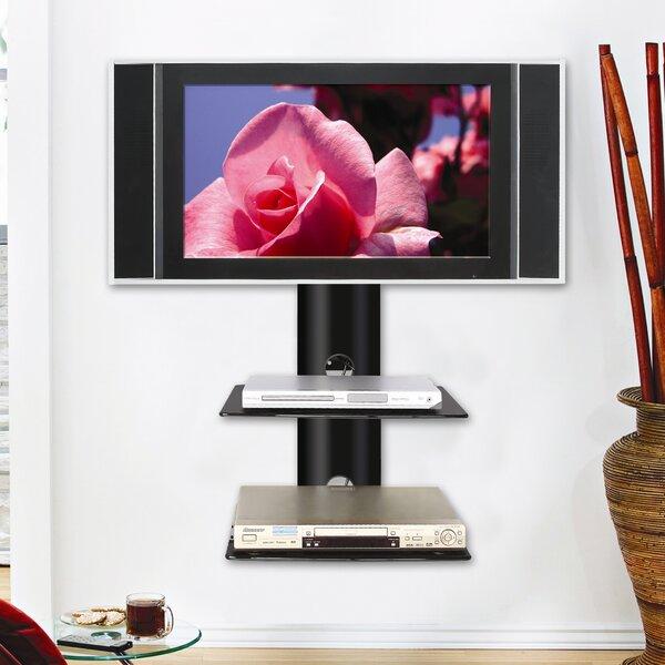 ready set mount monte carlo dual wallmount shelf system in higloss black u0026 reviews wayfair