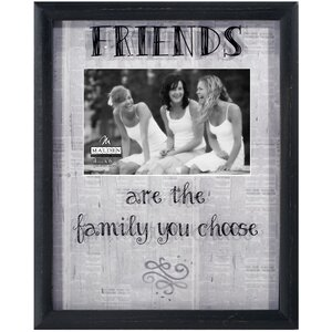Friends Newsprints Picture Frame