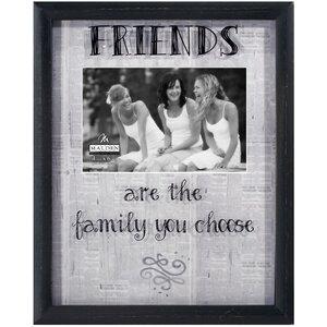 Friends Newsprints Picture Frame