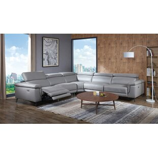 Reviews Philippa Reclining Sectional by Orren Ellis Reviews (2019) & Buyer's Guide