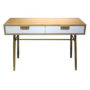 Keon Wooden 2 Drawer Console Table