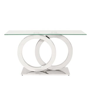Langer Stainless Steel Console Table