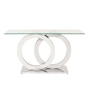 Langer Stainless Steel Console Table ByOrren Ellis