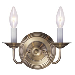 Allensby 2-Light Traditional Wall Sconce